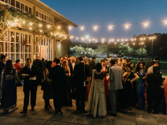 Welcome reception trend South Asian weddings
