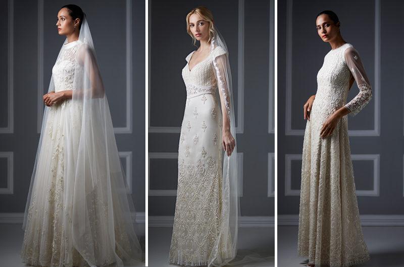 Anita Dongre Debuts White Wedding Gowns at NYC Flagship - Bibi Magazine